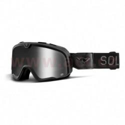 custom brýle Barstow El Solitario, 100% - USA (stříbrné chrom plexi)
