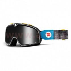 custom brýle Barstow Deus Ex Machina, 100% - USA (kouřové bronzové plexi)