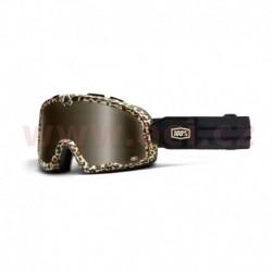 custom brýle Barstow Classic Carlton, 100% - USA (hnědá, hnědé plexi)