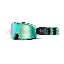 custom brýle Barstow Classic Ornamental Conifer, 100% - USA (zelená, zelené chrom plexi)