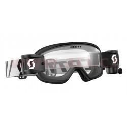 brýle BUZZ MX WFS, SCOTT - USA, dětské (černé, čiré plexi s Roll-Off)