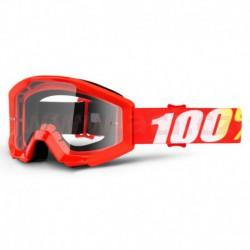 brýle Strata Furnace, 100% - USA dětské (čiré plexi s čepy pro slídy)