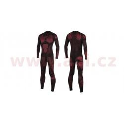 jednodílné spodní prádlo pod kombinézu RIDE TECH 1 PC UNDERSUIT SUMMER, ALPINESTARS - Itálie (červené/černé)