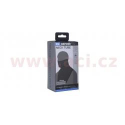 nákrčník Deluxe Micro Fleece, OXFORD (černý, s průduchy a dlouhým límcem)