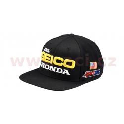 kšiltovka Podium Geico Honda, 100% - USA (černá, vel. UNI)