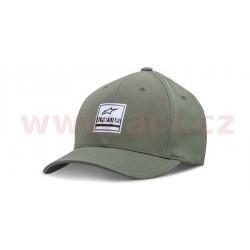 kšiltovka STATED, ALPINESTARS (zelená military)