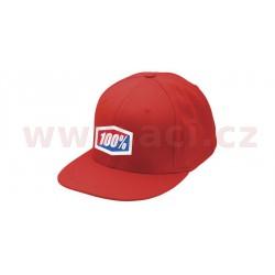 kšiltovka Icon Flexfit, 100% - USA (červená)