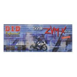 řetěz 520ZVMX, D.I.D. - Japonsko (barva zlatá, 120 článků vč. spojky ZJ)
