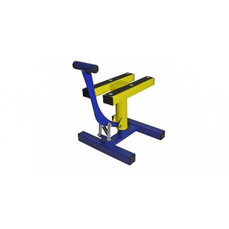 stojan MX, QTECH - EU (modrá matná/žlutá)