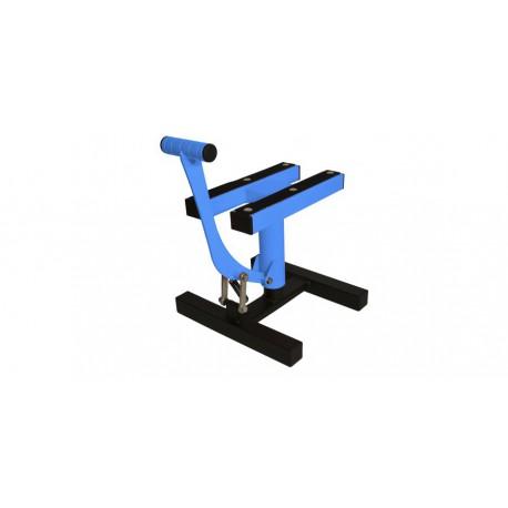 stojan MX, QTECH - EU (černá matná/modrá neon)