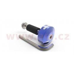 závaží řídítek Bar Ends 1 s redukcí pro vnitřní průměr 13 a 18 mm (vnější 22 a 28,6 mm), OXFORD - Anglie (modrý elox, pár)