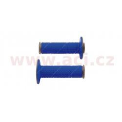 gripy Full Diamond (dvouvrstvé, extra měkké), RTECH - Itálie (modro-šedé, pár, délka 116 mm)