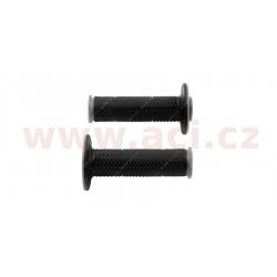 gripy Full Diamond (dvouvrstvé, extra měkké), RTECH - Itálie (černo-šedé, pár, délka 116 mm)