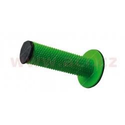 gripy Full Diamond (dvouvrstvé, extra měkké), RTECH - Itálie (zeleno-černé, pár, délka 116 mm)