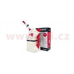 rychlotankovací kanystr R15 (objem 15 litrů), RTECH - Itálie (čirý / červené doplňky)