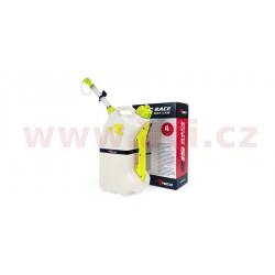rychlotankovací kanystr R15 (objem 15 litrů), RTECH - Itálie (čirý / žluté doplňky)