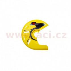 kryt předního kotouče, RTECH - Itálie (žlutý)