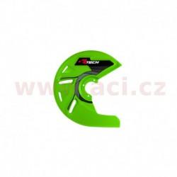 kryt předního kotouče, RTECH - Itálie (zelený)