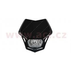 přední maska včetně světla V-Face, RTECH - Itálie (černá)