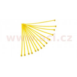 stahovací pásky 3,6x180 mm, RTECH - Itálie (žluté, 100 ks)