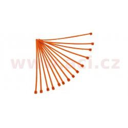 stahovací pásky 3,6x180 mm, RTECH - Itálie (oranžové, 100 ks)
