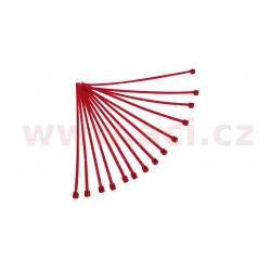stahovací pásky 3,6x180 mm, RTECH - Itálie (červené, 100 ks)