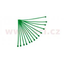 stahovací pásky 3,6x180 mm, RTECH - Itálie (zelené, 100 ks)