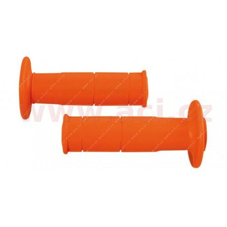 gripy Racing (měkké), RTECH - Itálie (oranžové, pár, délka 116 mm)