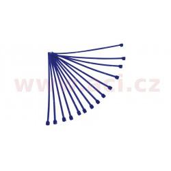 stahovací pásky 4,8x280 mm, RTECH - Itálie (modré, 100 ks)