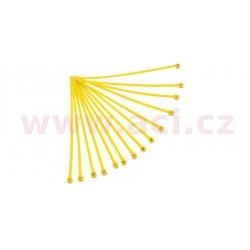 stahovací pásky 4,8x280 mm, RTECH - Itálie (žluté, 100 ks)