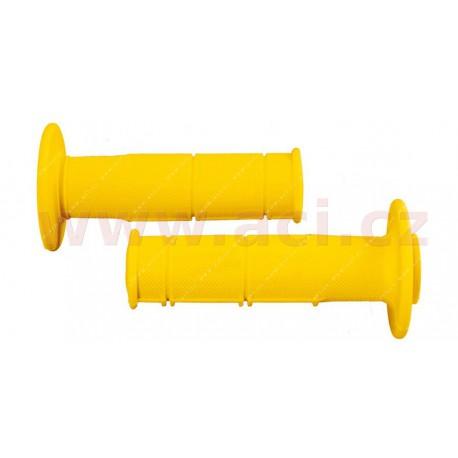 gripy Racing (měkké), RTECH - Itálie (žluté, pár, délka 116 mm)