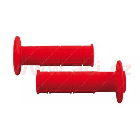 gripy Racing (měkké), RTECH - Itálie (červené, pár, délka 116 mm)