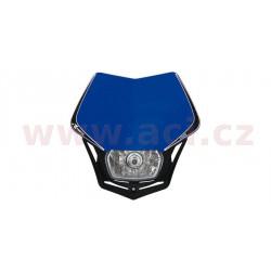 přední maska včetně světla V-Face, RTECH - Itálie (modro-černá)