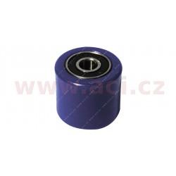 kladka řetězu univerzální, RTECH - Itálie (modrá, vnitřní průměr 8 mm, vnější průměr 31 mm)