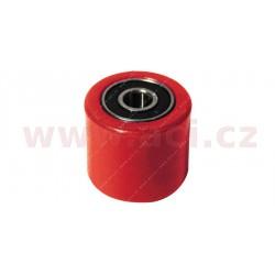 kladka řetězu univerzální, RTECH - Itálie (červená, vnitřní průměr 8 mm, vnější průměr 31 mm)