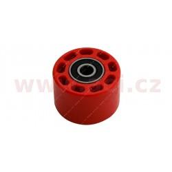 kladka řetězu univerzální, RTECH - Itálie (červená, vnitřní průměr 8 mm, vnější průměr 42 mm)