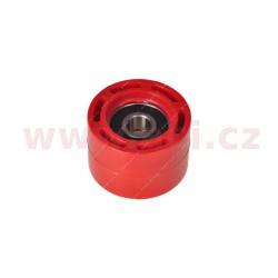 kladka řetězu Honda, RTECH - Itálie (červená, vnitřní průměr 8 mm, vnější průměr 34 mm)