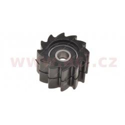 kladka řetězu Kawasaki, RTECH - Itálie (černá, vnitřní průměr 8 mm, vnější průměr 38 mm)