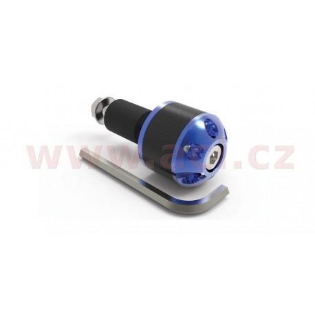 závaží řídítek Carb Ends s redukcí pro vnitřní průměr 18 mm (vnější 28,6 mm), OXFORD - Anglie (modré, pár)