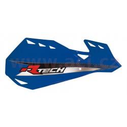 kryty páček DUAL EVO, RTECH - Itálie (modré odst. Yamaha YZF, vč. montážní sady)