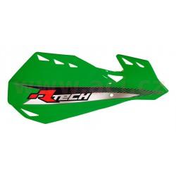 kryty páček DUAL EVO, RTECH - Itálie (zelené odst. Kawasaki KXF, vč. montážní sady)