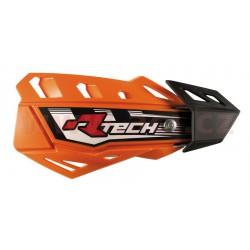 kryty páček FLX, RTECH - Itálie (oranžové odst. KTM, 4 varianty v 1, vč. montážní sady)