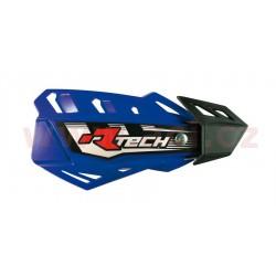 kryty páček FLX, RTECH - Itálie (modré odst. Yamaha YZF, 4 varianty v 1, vč. montážní sady)