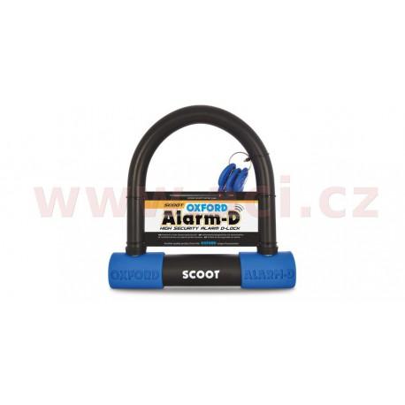 zámek U profil Alarm-D Scoot, OXFORD - Anglie (integrovaný alarm, průměr čepu 16 mm)