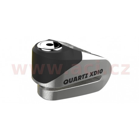 zámek kotoučové brzdy Quartz XD10, OXFORD - Anglie (broušený kov, průměr čepu 10 mm)