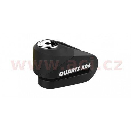 zámek kotoučové brzdy Quartz XD6, OXFORD - Anglie (černý, průměr čepu 6 mm)