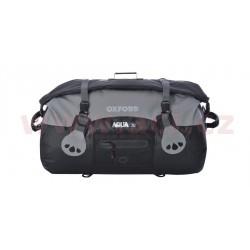 vodotěsný vak Aqua70 Roll Bag, OXFORD - Anglie (černý/šedý, objem 70 l)