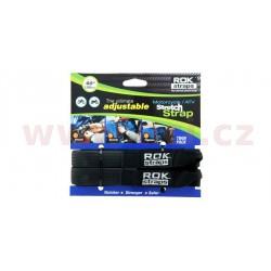 popruhy ROK straps HD nastavitelné a zesílené, OXFORD - Anglie (černá, šířka 25 mm, pár)