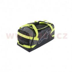 taška GOANNA DUFFLE, ALPINESTARS (černá/antracitová/žlutá fluo, objem 125 l)