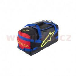 taška GOANNA DUFFLE, ALPINESTARS (černá/modrá/červená/žlutá fluo, objem 125 l)